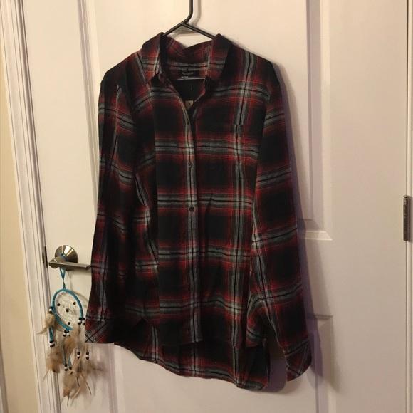 Madewell Tops - Madewell plaid shirt